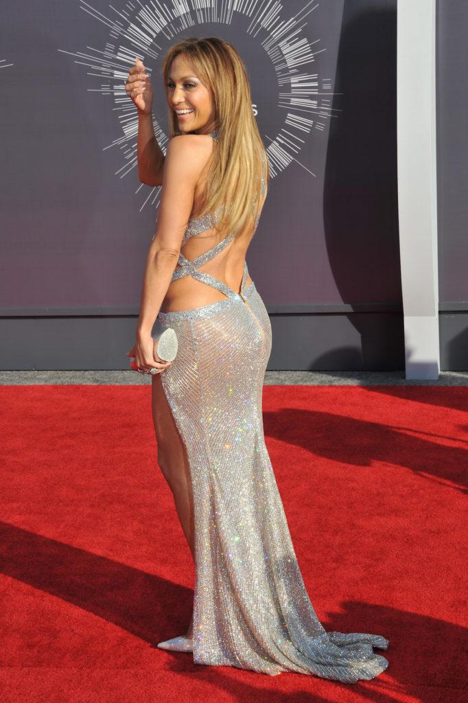 Jennifer Lopez pear shaped body
