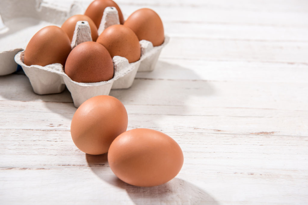 eat eggs to tone your butt and reduce cellulite Chicago TushToners