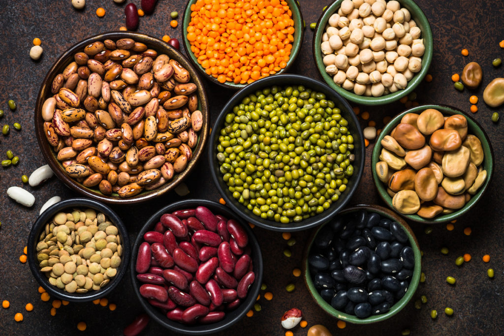 eat legumes for a good butt Chicago body sculpting