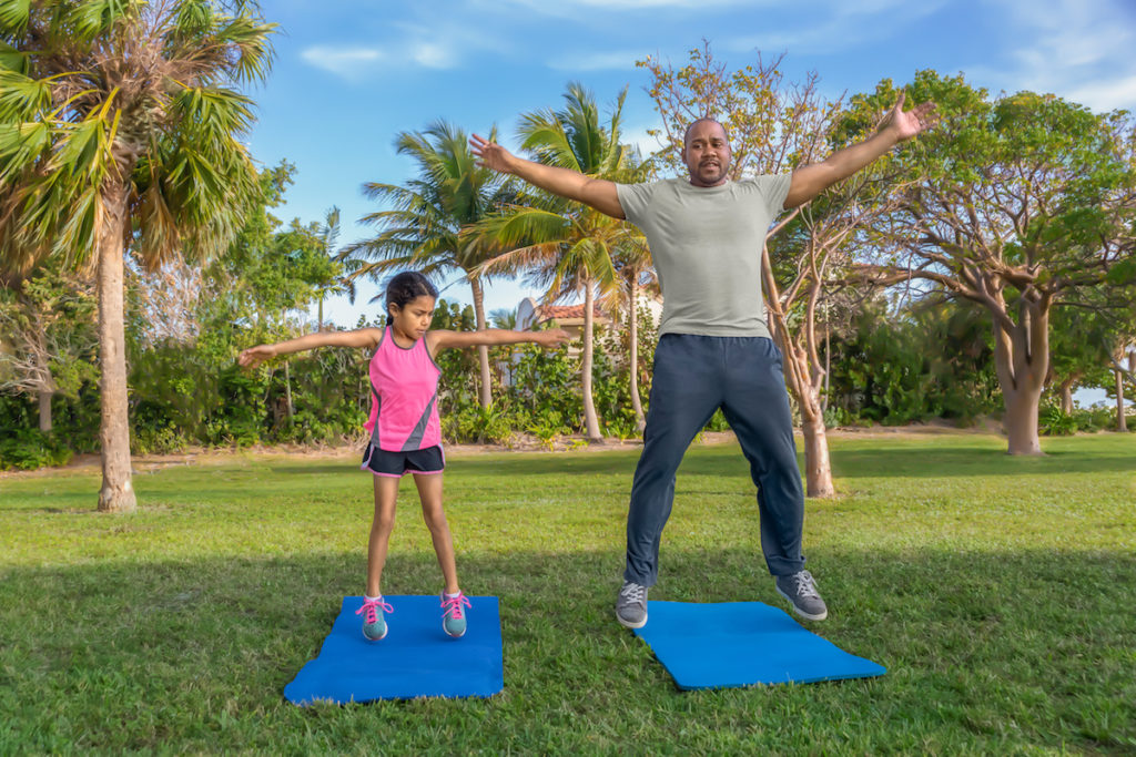 jumping jacks with kids workout Chicago