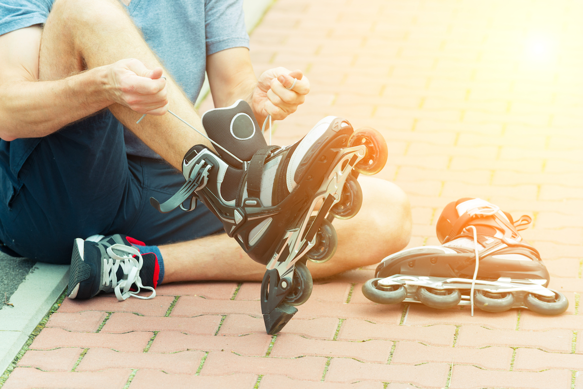 rollerblading to stay in shape TushToners Chicago noninvasive butt lift