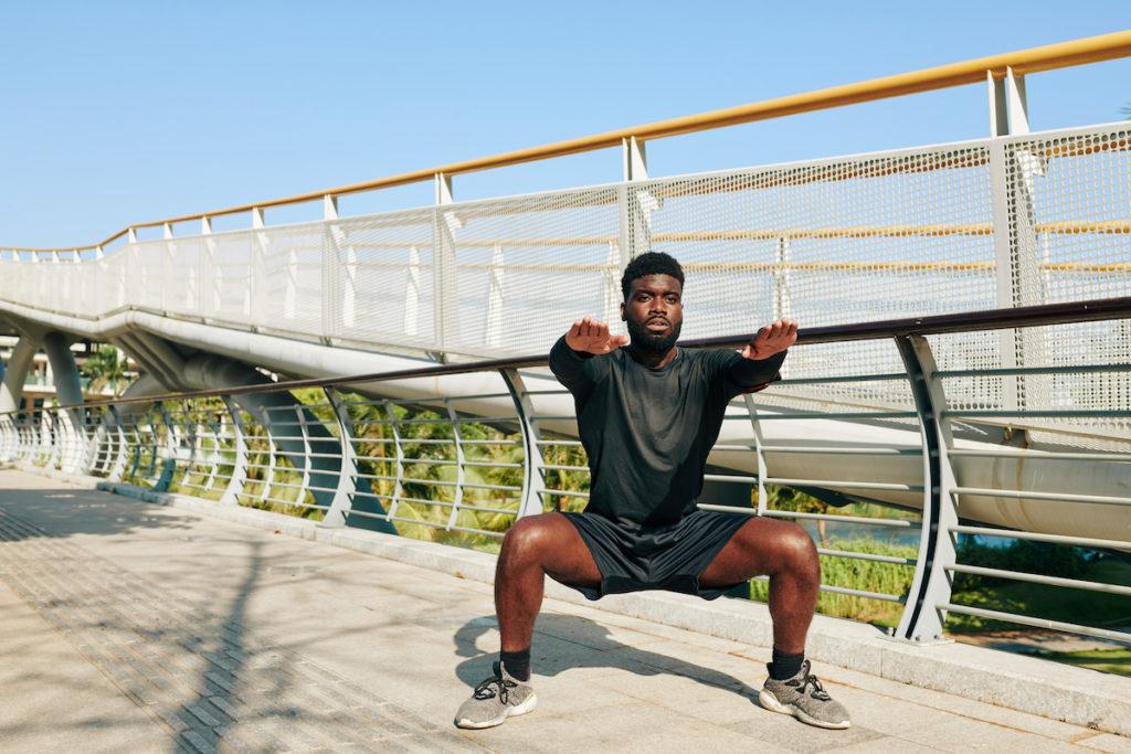 sumo squats for Brazilian butt lift