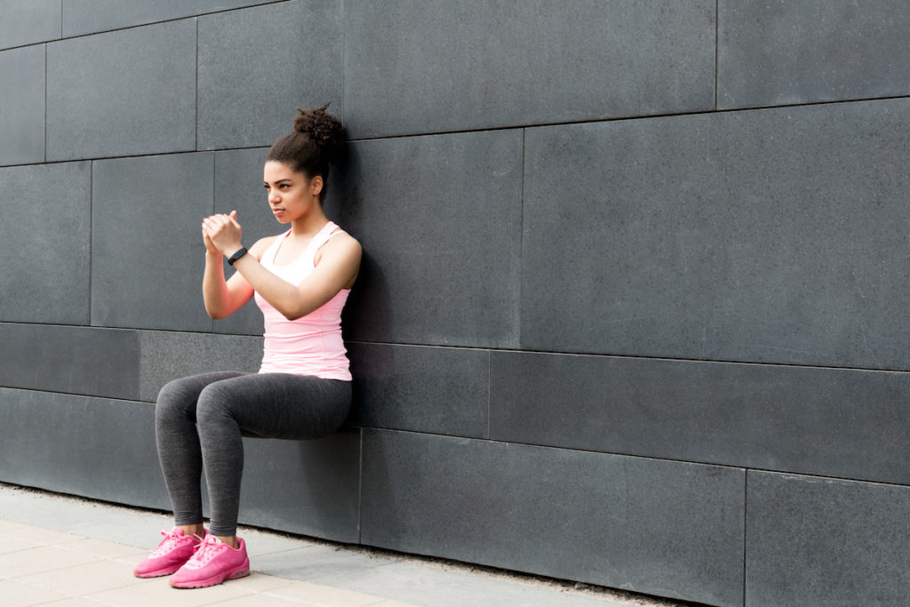 wall squats to reduce cellulite best butt workouts Chicago