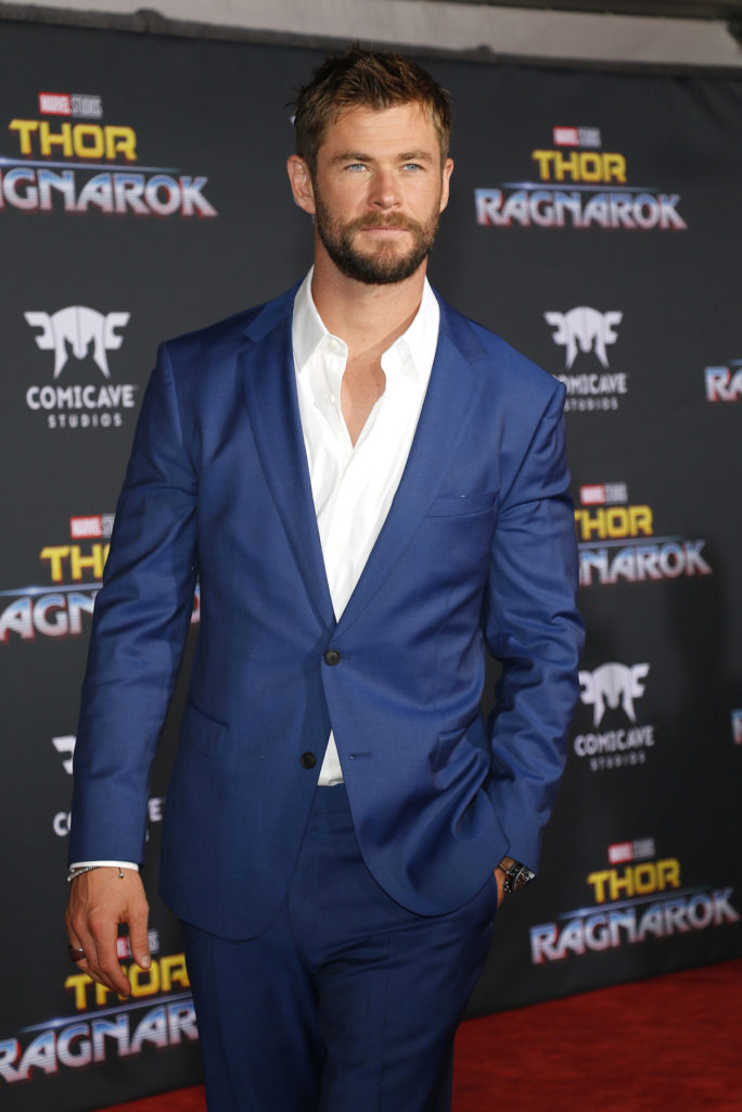 Best arms hollywood tone arms Chicago Chris Hemsworth