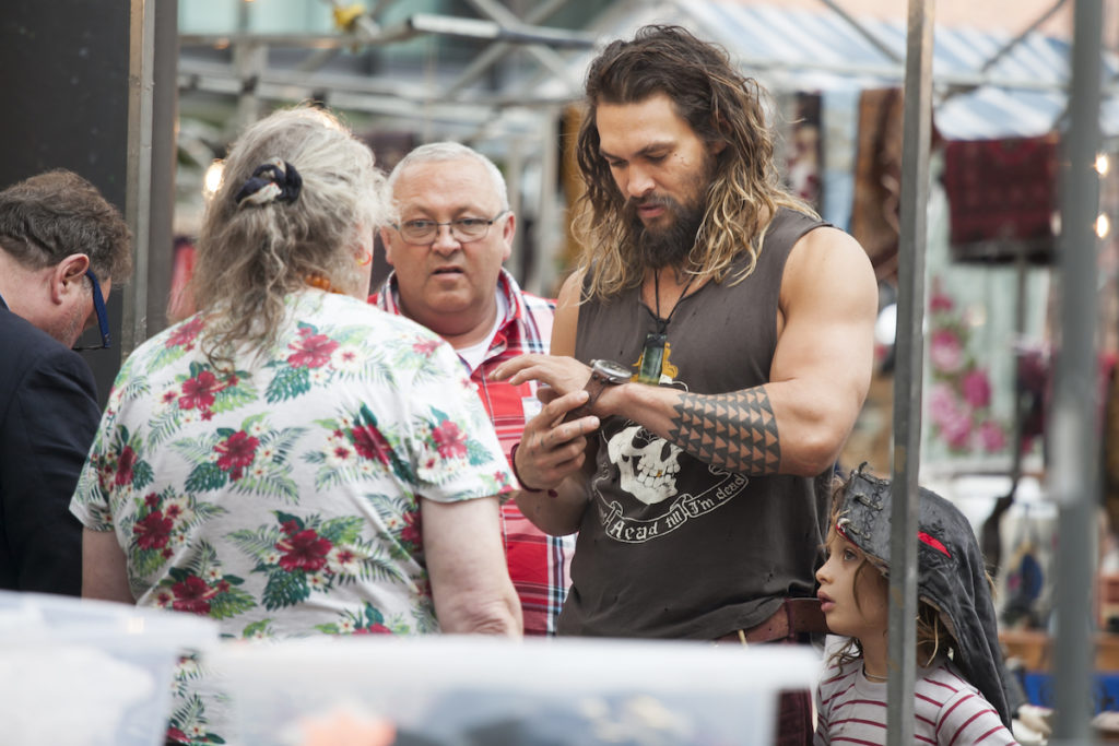 Best arms hollywood tone arms Chicago Jason Momoa