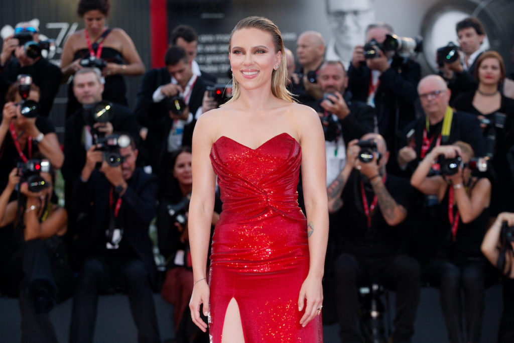 Scarlett Johansson best arms in Hollywood reduce arm fat Chicago