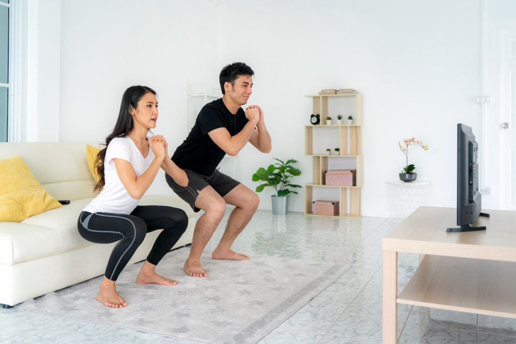 best at home exercises Chicago weight loss