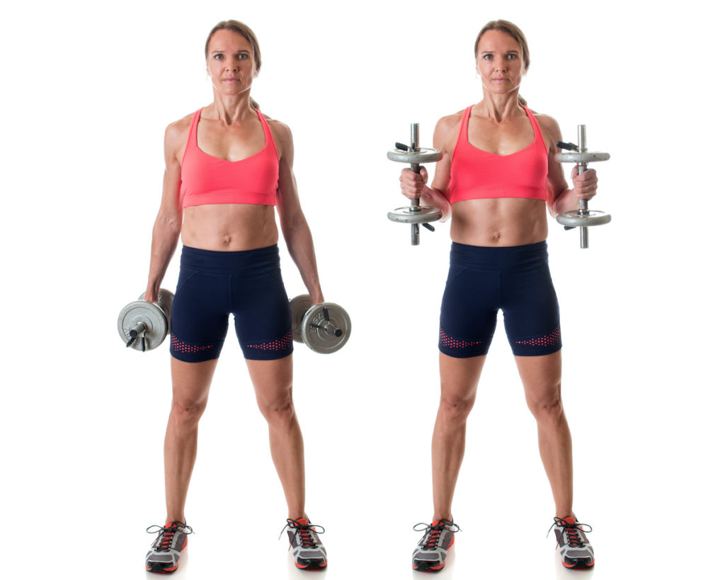 hammer curls toned arms Chicago body sculpting