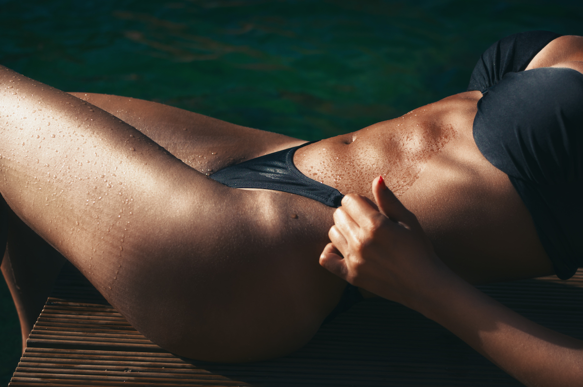 best female abs in Hollywood
